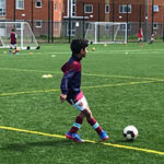 Nishanth (Nish) Doppalapud attends West Ham United Academy in London, England