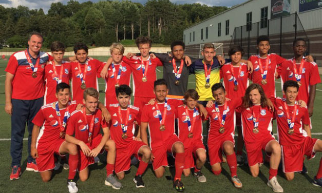 Hoover Phantoms '01 Win National State Games of America!