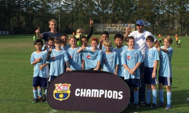 HSC Barcelona Team Wins Rec Division at Vestavia Tournament